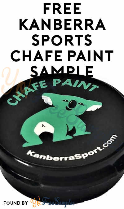 FREE Kanberra Sports Chafe Paint Sample