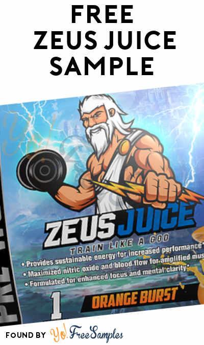 FREE Zeus Juice Sample