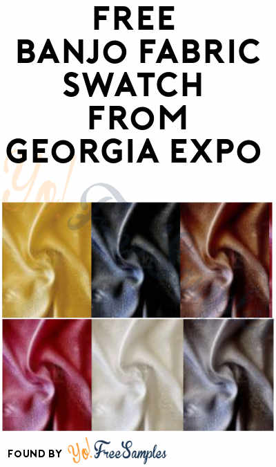 FREE Banjo Fabric Swatch Sample from Georgia Expo