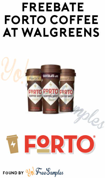 FREEBATE Forto Coffee at Walgreens (Ibotta Required)