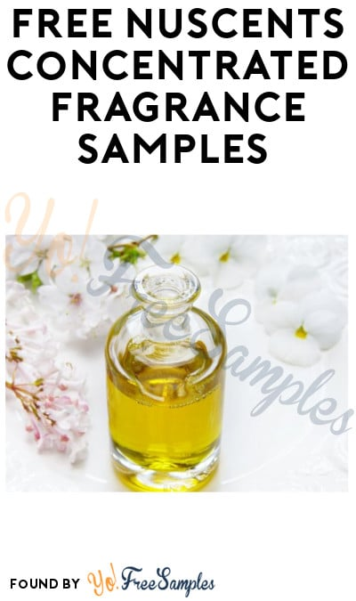 FREE Nuscents Concentrated Fragrance Samples