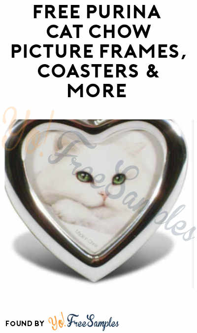 FREE Purina Cat Chow Picture Frames, Coasters & More (Signup Required)