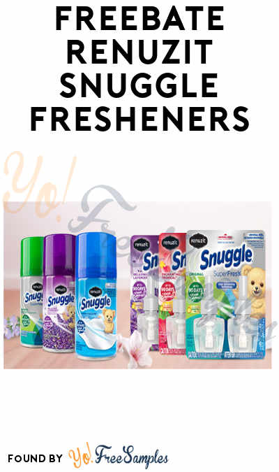 FREEBATE Renuzit Snuggle Fresheners (Online or Mail-In)