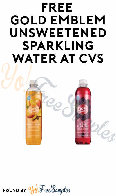 Ends Today, 7/16: FREE Gold Emblem Unsweetened Sparkling Water at CVS (App + Rewards Card Required)