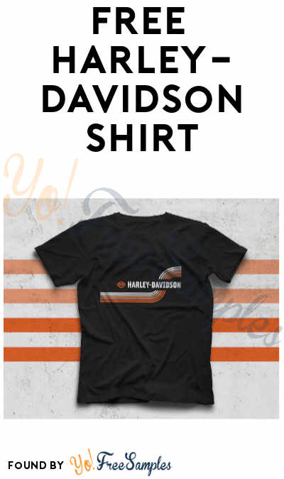 FREE Harley-Davidson T-Shirt [Verified Received By Mail]