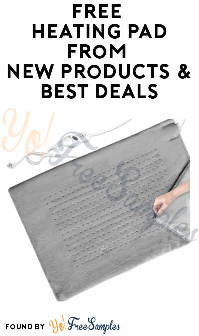 Possible FREE Heating Pad from New Products & Best Deals (Facebook Messenger + Amazon Required)