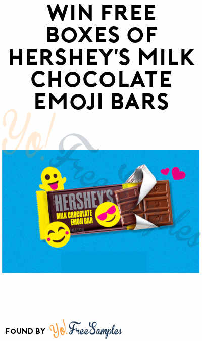 Enter Daily: Win FREE Boxes of Hershey's Milk Chocolate Emoji Bars