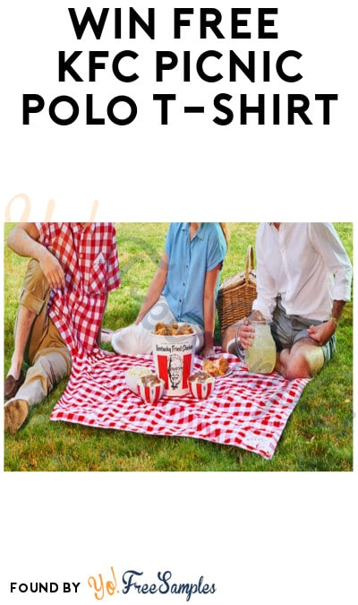 Win FREE KFC Picnic Polo T-shirt