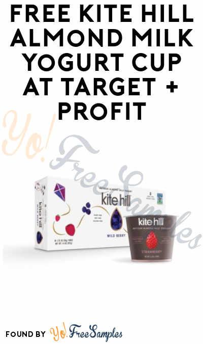 FREE Kite Hill Almond Milk Yogurt Cup at Target + Profit (Ibotta & Cartwheel Required)