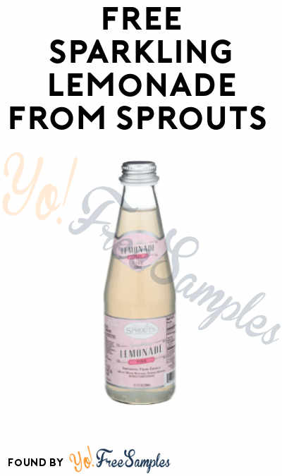 FREE Sparkling Lemonade from Sprouts (App + Code required)