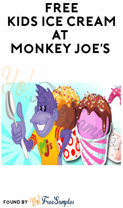 FREE Kids Ice Cream at Monkey Joe's (Paid Admission Required)