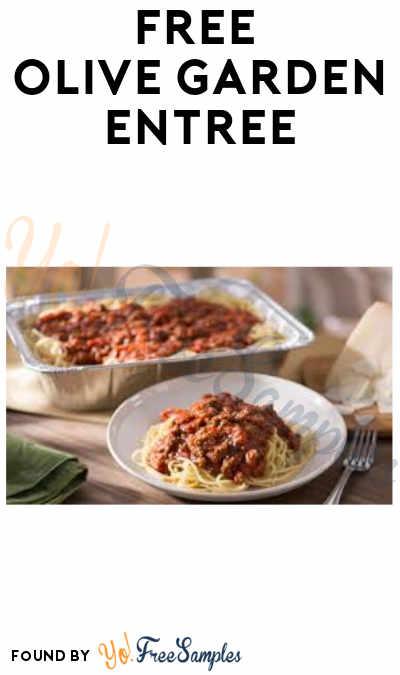 FREE Olive Garden Entrée BOGO (Purchase Required)