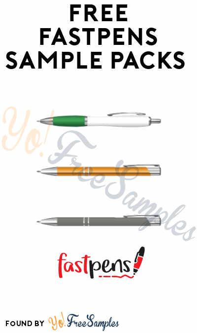 FREE FastPens Sample Packs