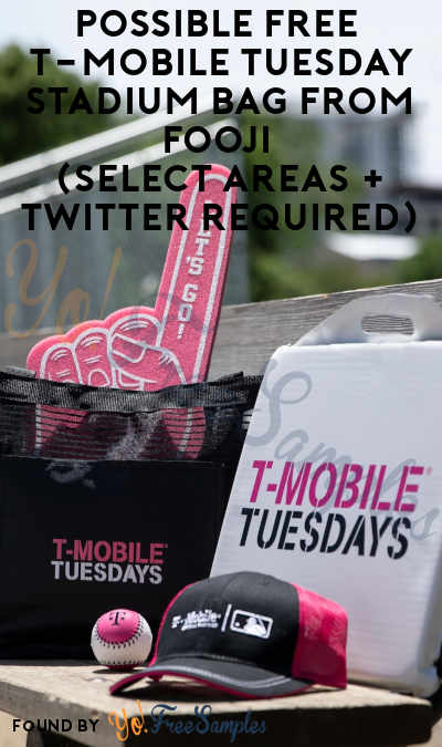 Possible FREE T-Mobile Tuesday Stadium Bag From Fooji (Select Areas + Twitter Required)