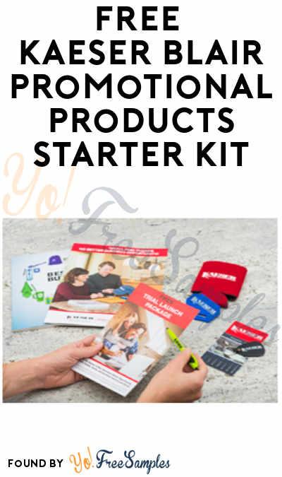 FREE Kaeser Blair Promotional Products Starter Kit