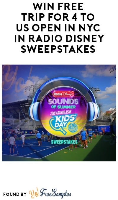 Enter Daily: Win FREE Trip for 4 to US Open in NYC in Radio
