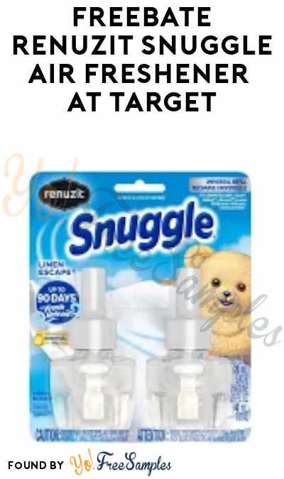 FREEBATE Renuzit Snuggle Air Freshener at Target (Mail-In)