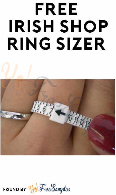 FREE Irish Shop Ring Sizer