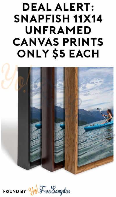 DEAL ALERT: Snapfish 11×14 Unframed Canvas Prints Only $5 Each
