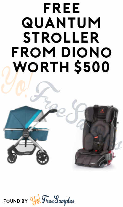 DEAL ALERT: FREE Quantum Stroller from Diono Worth $500 (Purchase Required)