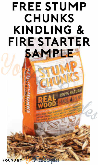 FREE Stump Chunks Kindling & Fire Starter Sample