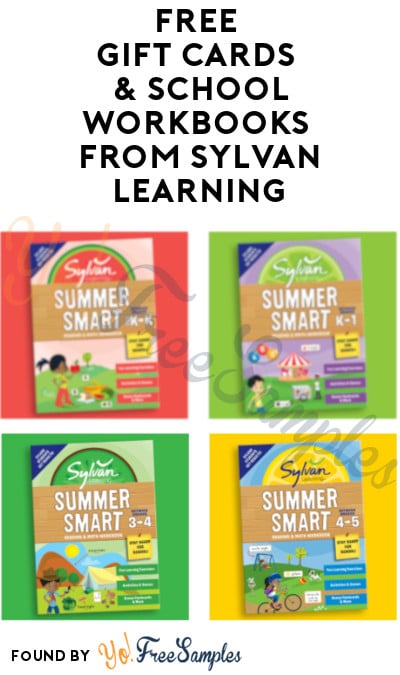 FREE Gift Cards & School Workbooks Rewards Using Points from Sylvan Learning