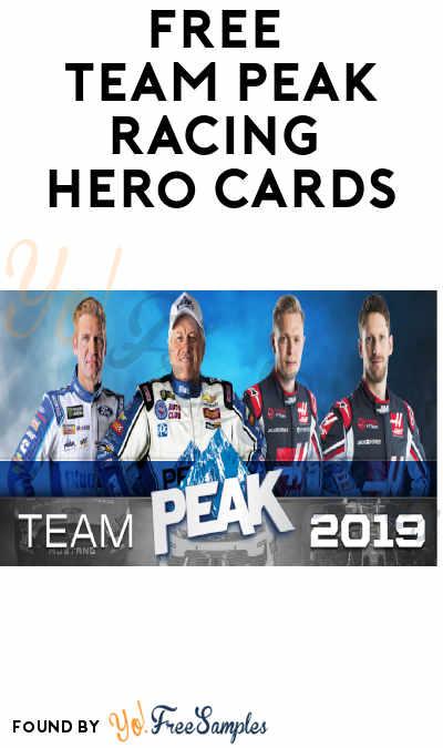 FREE Team Peak Racing Hero Cards