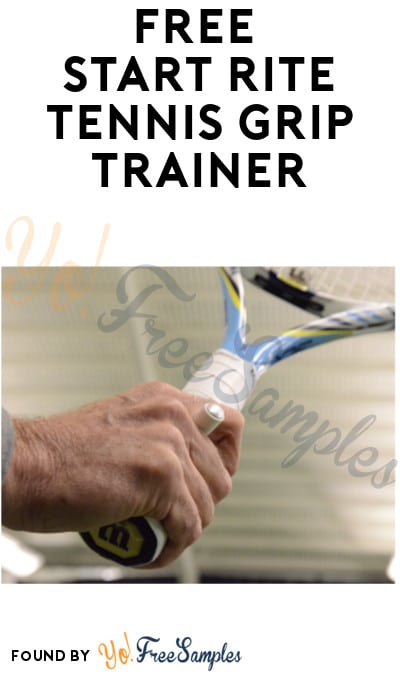 FREE Start Rite Tennis Grip Trainer (Club Name Required)