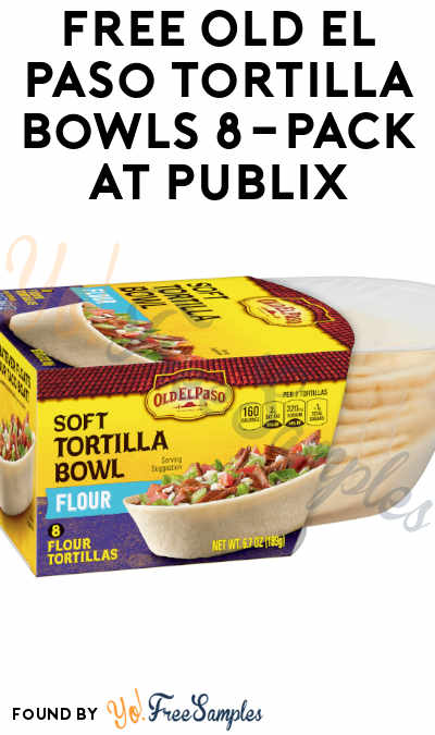 FREE Old El Paso Tortilla Bowls 8-Pack at Publix (Account Required)
