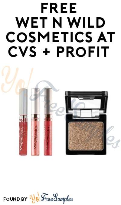 FREE Wet n Wild Cosmetics at CVS + Profit (Rewards Card Required)
