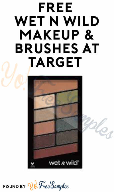 FREE Wet n Wild Makeup & Brushes at Target (Coupon Required)