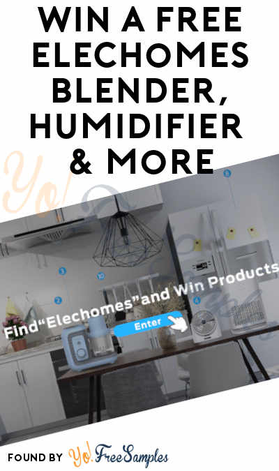 Win A FREE Elechomes Blender, Humidifier & More From The Home Improvement Giveaway