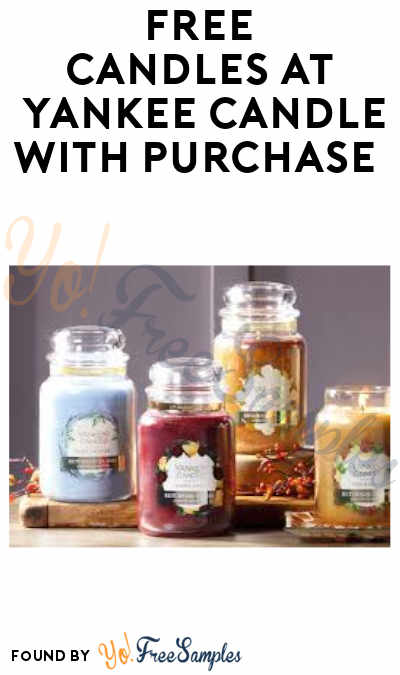 Buy 2 Get 2 FREE at Yankee Candle (Code or Coupon Required)
