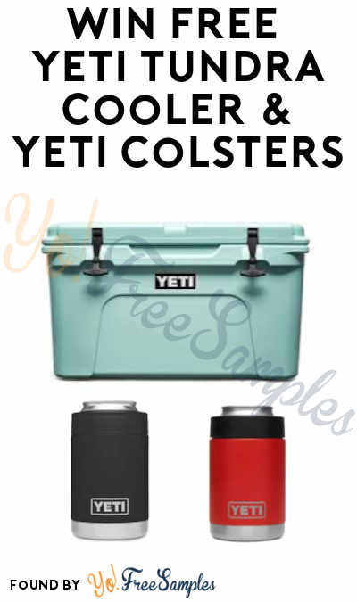 Enter Daily: Win FREE Yeti Tundra 45 Coolers & Colsters (Ages 21 & Older + Select States)