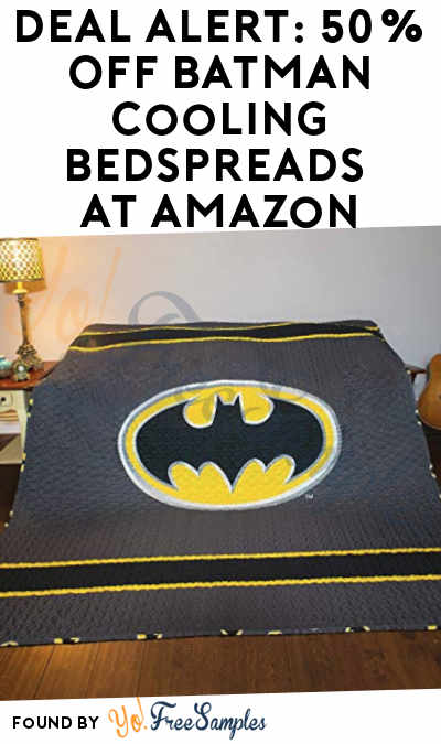 DEAL ALERT: 50% Off Batman Cooling Bedspreads At Amazon