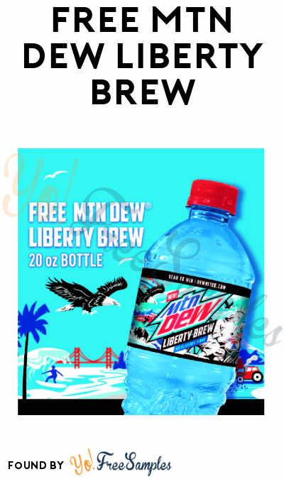 FREE MTN DEW Liberty Brew