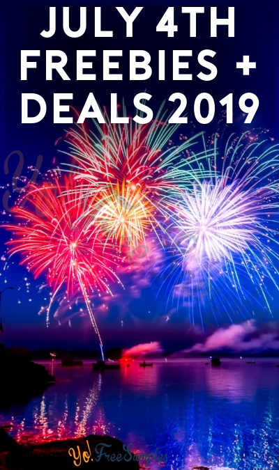 July 4th Freebies + Deals 2019