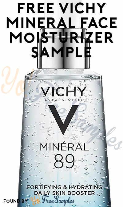 FREE Vichy Minéral 89 Hyaluronic Acid Gel Face Moisturizer
