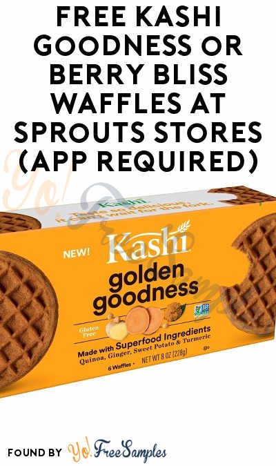 TODAY ONLY 7/16: FREE Kashi Goodness or Berry Bliss Waffles at Sprouts Stores (App Required)