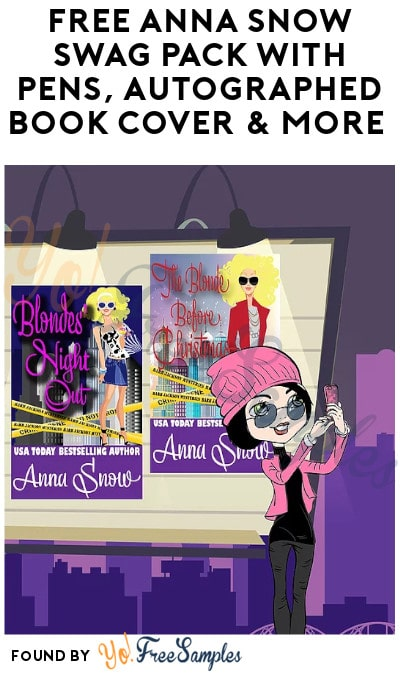 FREE Anna Snow Swag Pack with Pens, Autographed Book Cover & More