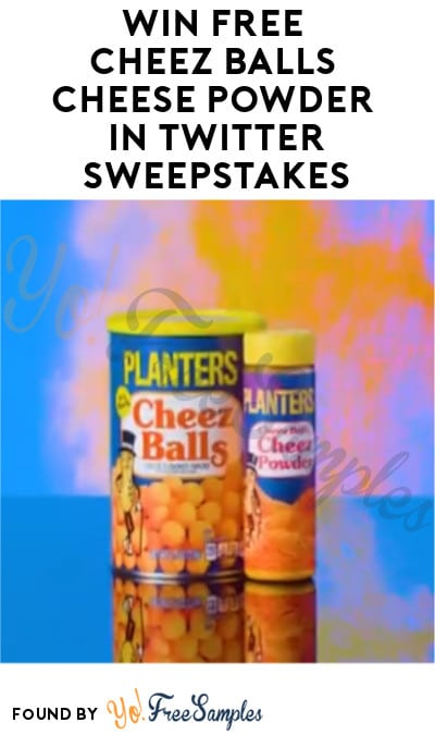 Win FREE Cheez Balls Cheese Powder in Twitter Sweepstakes (Twitter Required)