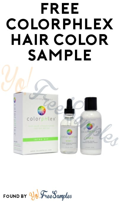 FREE Colorphlex Hair Color Sample (Beauty License Required)