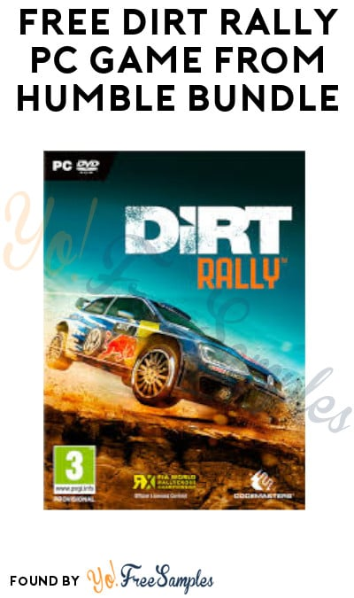 FREE Dirt Rally PC Game from Humble Bundle (Signup + Steam Account Required)