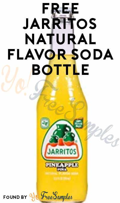 FREE Jarritos Natural Flavor Soda Bottle