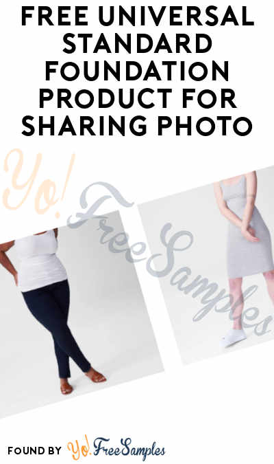 FREE Universal Standard Foundation Clothing Piece For Sharing Photo