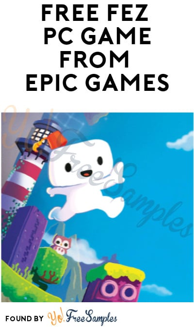 FREE Fez PC Game from Epic Games (Account Required)