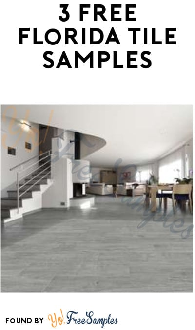 3 FREE Florida Tile Samples