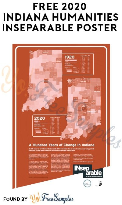FREE 2020 Indiana Humanities INseparable Poster (Organizations Only)