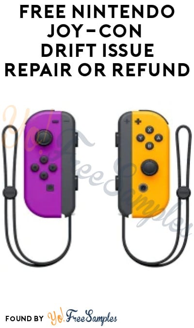 FREE Nintendo Joy-Con Drift Issue Repair or Refund