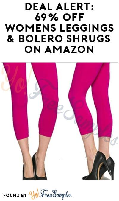 DEAL ALERT: 69% Off Women's Summer Leggings & Bolero Shrugs on Amazon